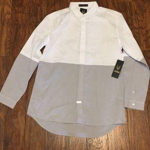 Ecko Men's Premio Long Sleeve Button Down Shirt
